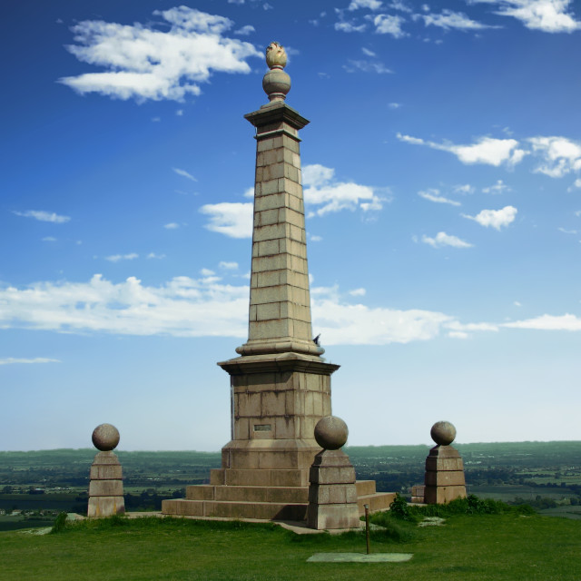 """Coombe Hill Monument, Buckinghamshire"" stock image"