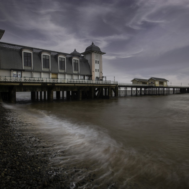 """Penarth Pier South Wales"" stock image"