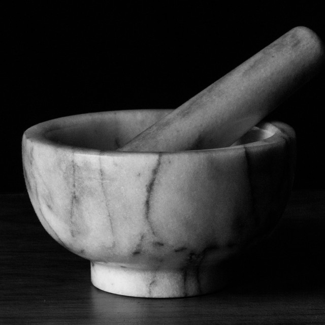 """""""Mortar and pestle"""" stock image"""