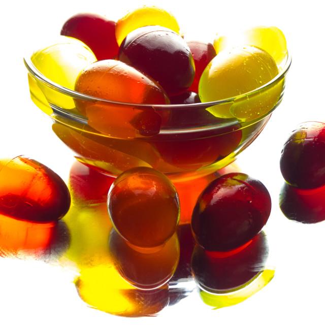 """Jelly eggs"" stock image"