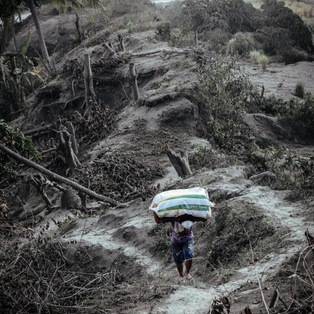 """Taal Volcano Philippines - Taal Vulkan Philippinen"" stock image"