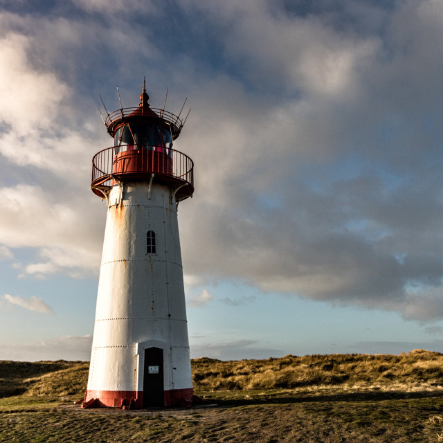 """""""Northern Lighthouse Sylt"""" stock image"""