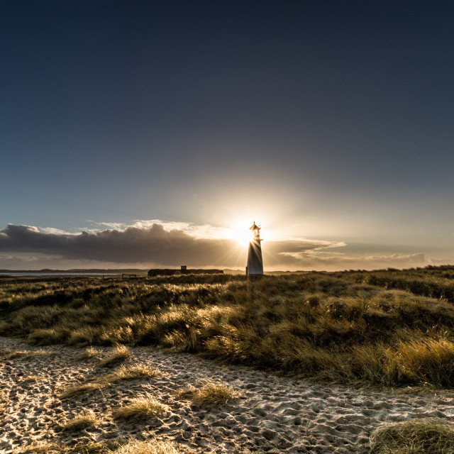 """""""Lighthouse in the sun"""" stock image"""