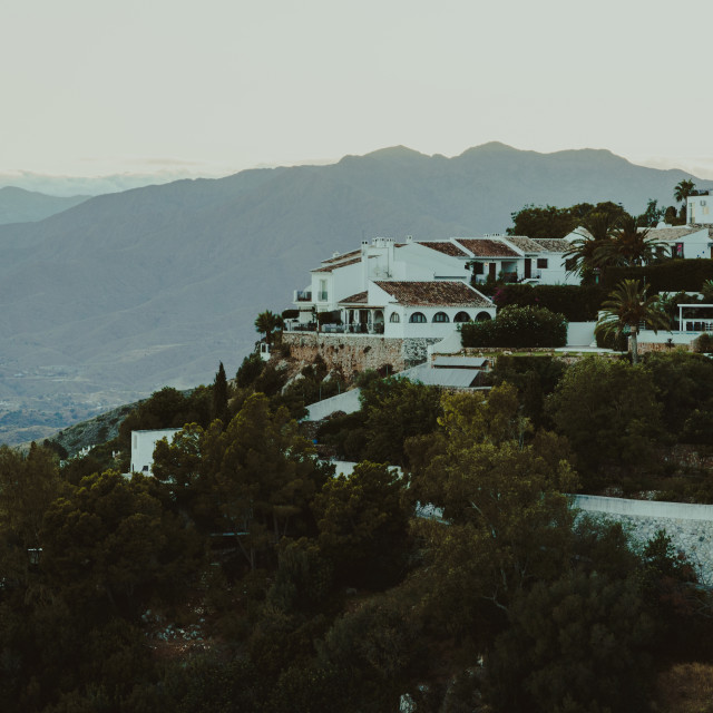 """Mijas evening"" stock image"