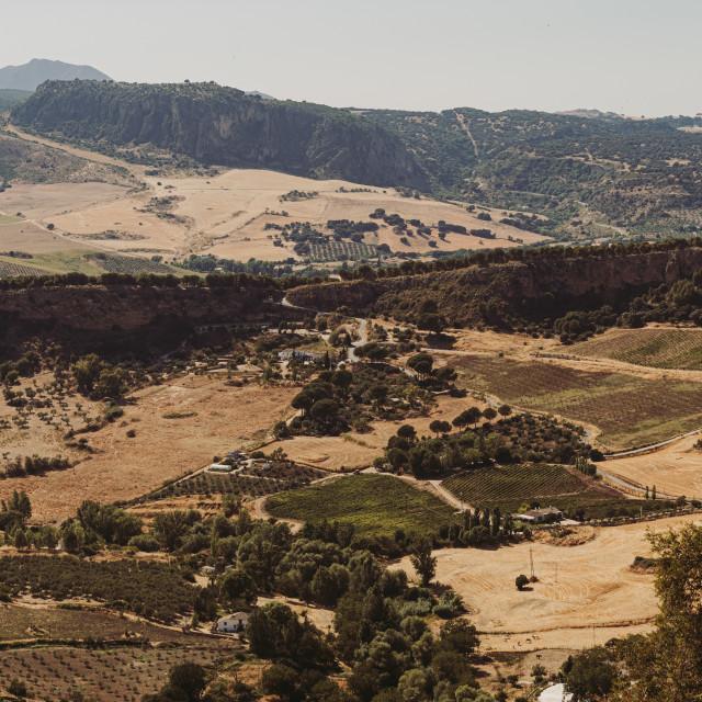"""Ronda's landscape"" stock image"