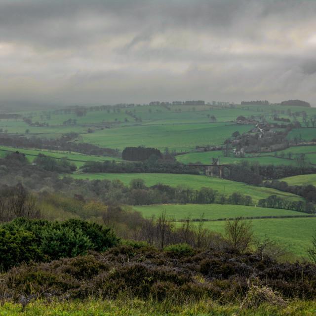 """""""Edlingham, Northumberland,"""" stock image"""
