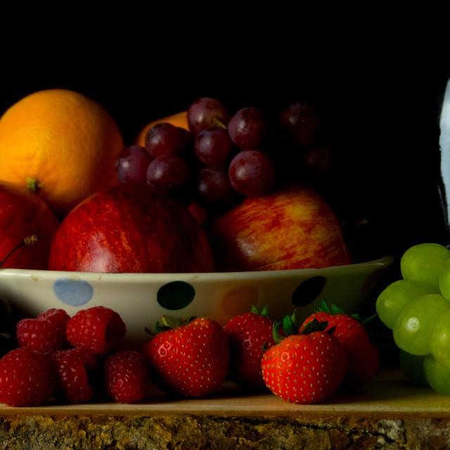 """Still life fruit"" stock image"