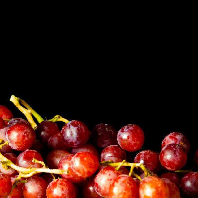 """Still life grapes"" stock image"