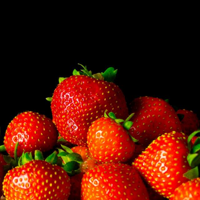 """Still life strawberries"" stock image"