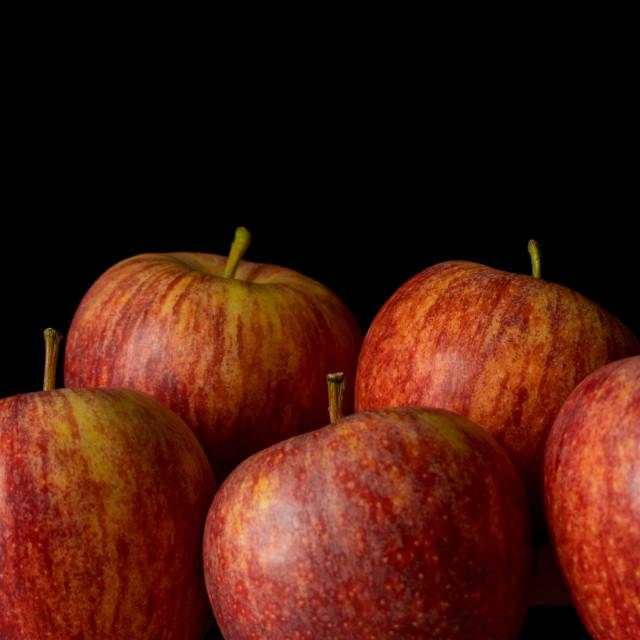 """""""Still life apples"""" stock image"""