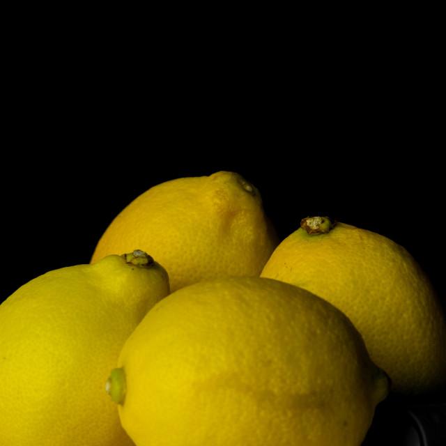 """Still life lemon"" stock image"