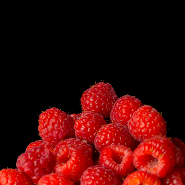 """Still life raspberries"" stock image"
