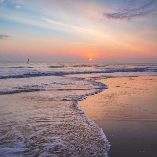 """Mablethorpe Beach"" stock image"