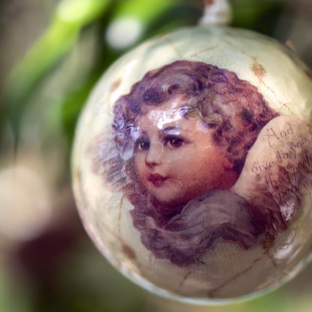 """""""Christmas ornament"""" stock image"""