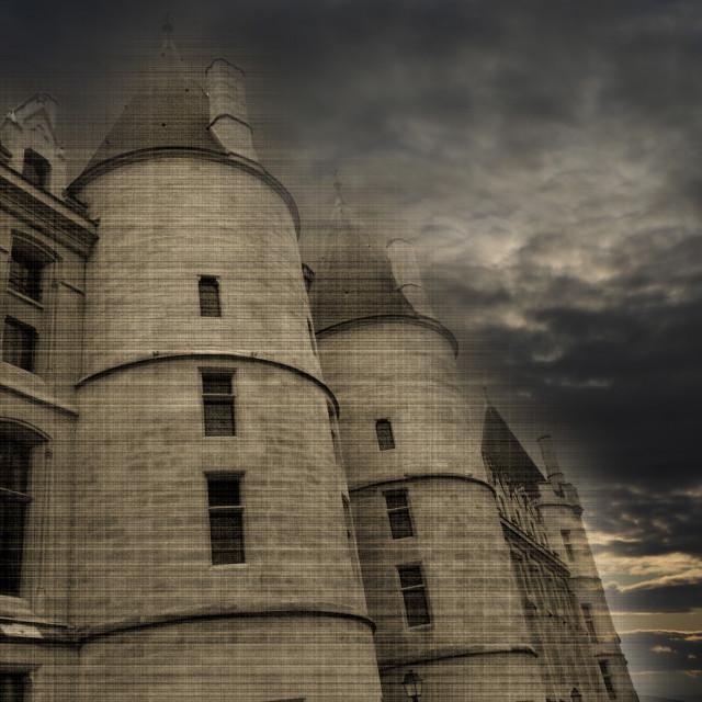 """""""Conciergerie Paris France"""" stock image"""