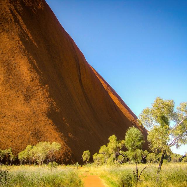 """""""Uluru Profile"""" stock image"""