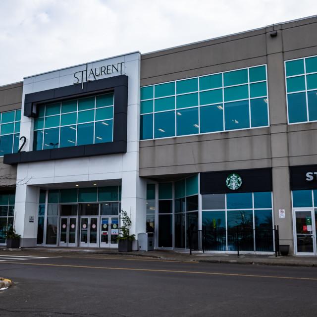 """""""St. Laurent Shopping Centre in Ottawa"""" stock image"""