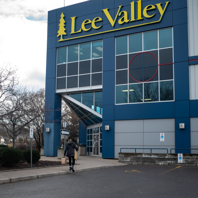 """""""Lee Valley Tools retail store in Ottawa, Canada"""" stock image"""