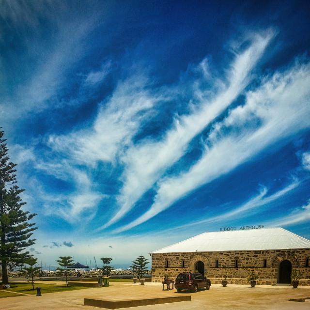 """""""Kidogo Arthouse, Fremantle"""" stock image"""