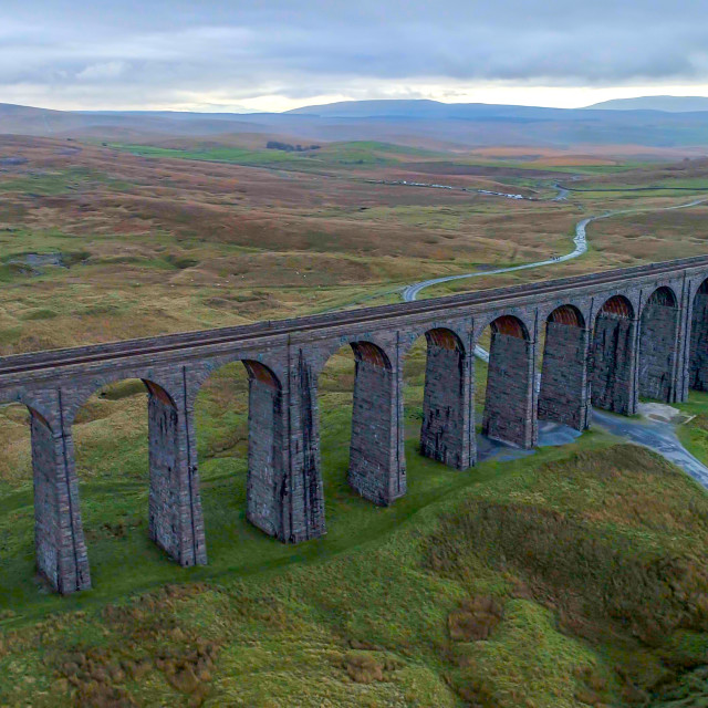 """Ribblehead."" stock image"