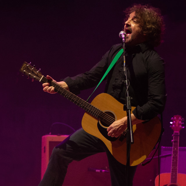 """Ian Prowse with Amsterdam"" stock image"