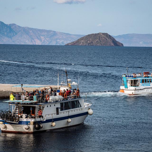 """Nisyros, Insel der Dodekanes"" stock image"