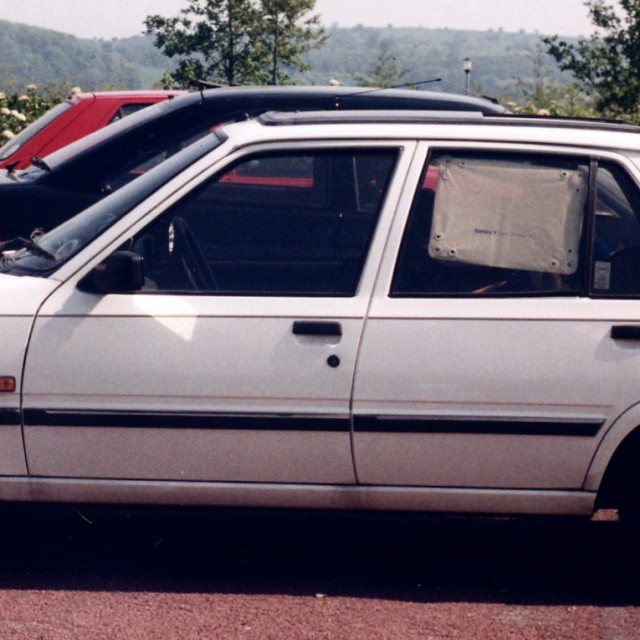 """Peugeot 309"" stock image"