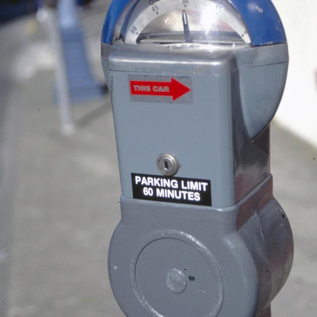 """""""Parking meter"""" stock image"""