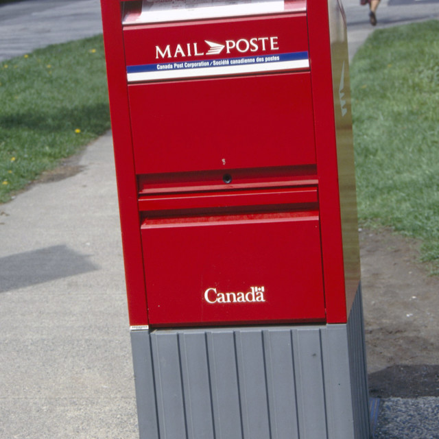 """""""Vancouver psot box"""" stock image"""