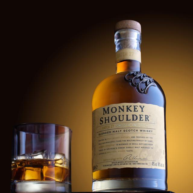 """""""Bottle of Whiskey"""" stock image"""
