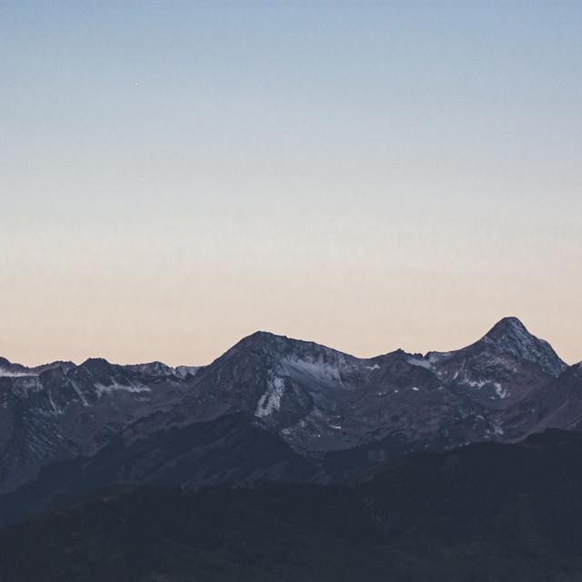 """""""Aspen Morning"""" stock image"""