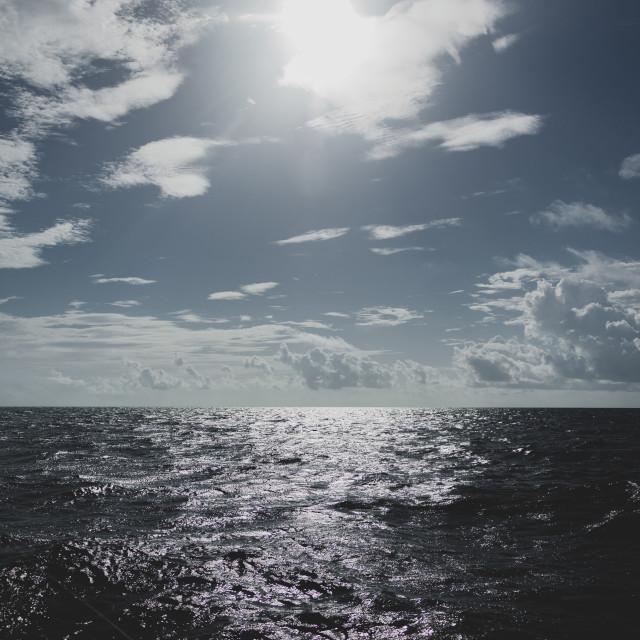 """""""Gulf Horizon"""" stock image"""