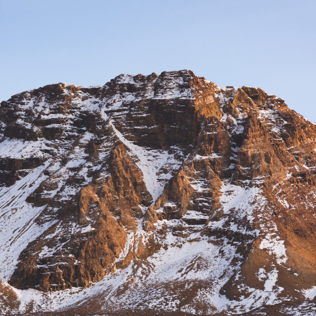 """Frigid Mountain"" stock image"