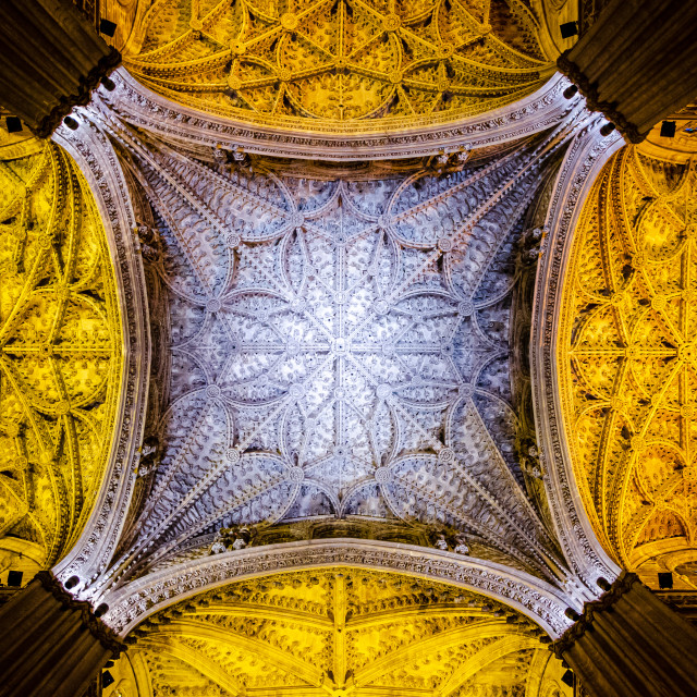 """Sevilla Cathedral"" stock image"