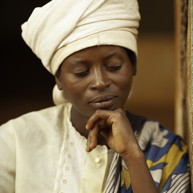 """""""African woman"""" stock image"""