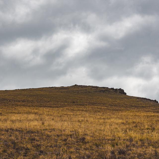 """Barren Peak"" stock image"