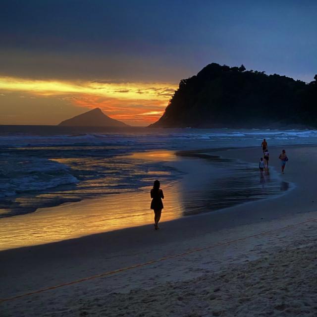 """""""Beautiful sunset"""" stock image"""