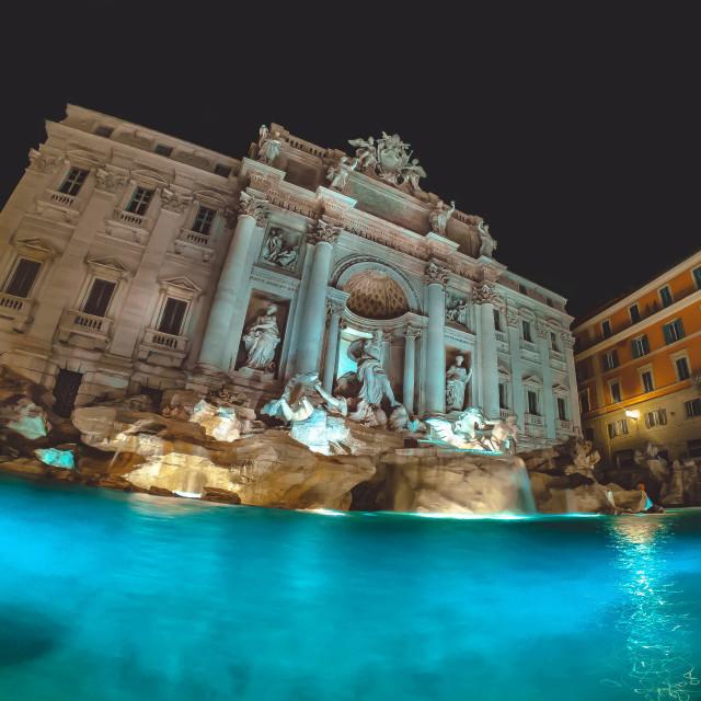 """Rome - Trevi's Fountain"" stock image"