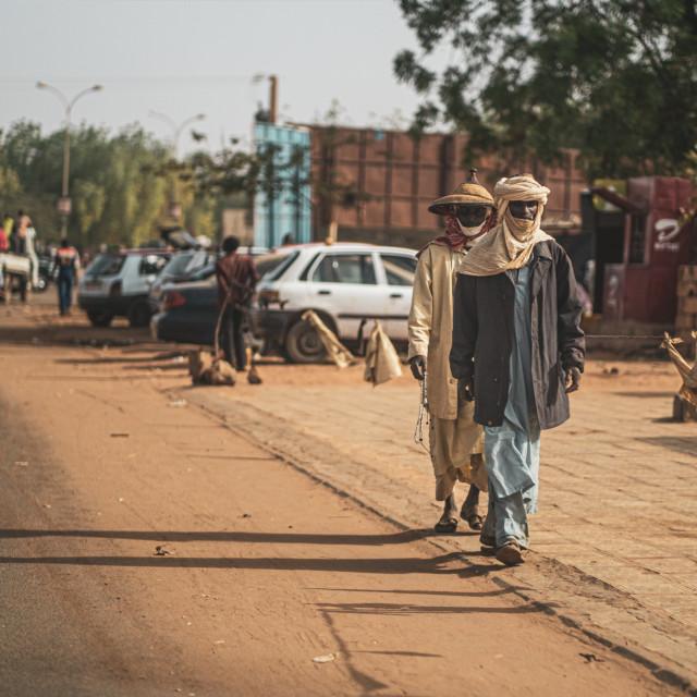 """Tuaregs in Niger"" stock image"
