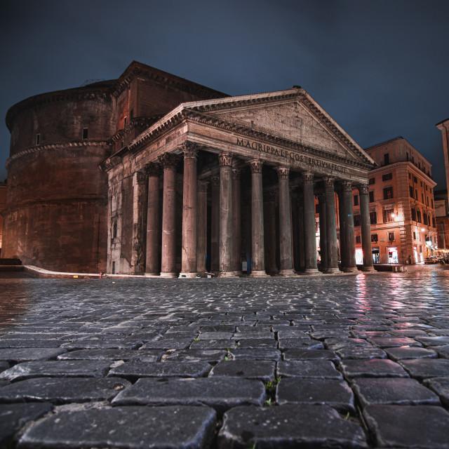 """Rome's Pantheon"" stock image"