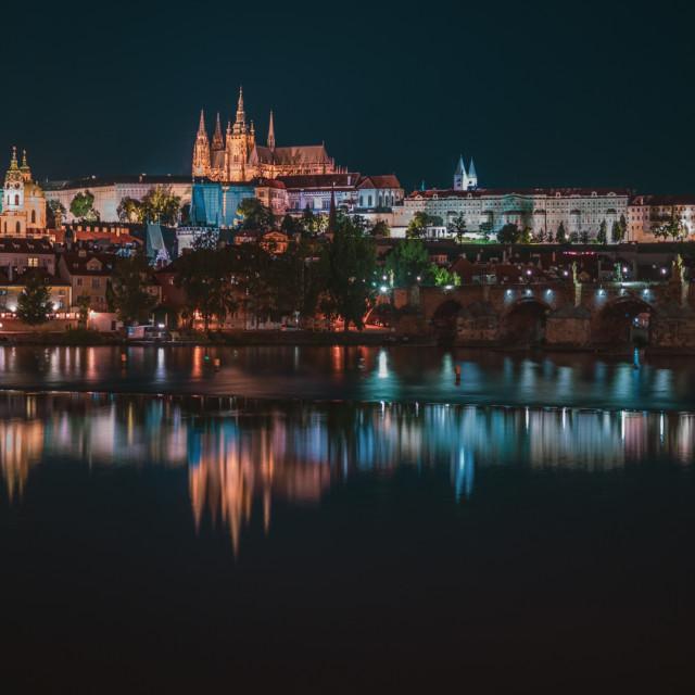 """""""Prague's Castle"""" stock image"""