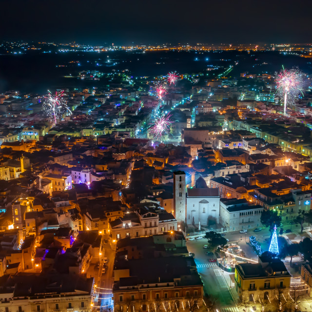 """""""Fireworks in Italy"""" stock image"""