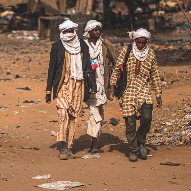 """Tuaregs"" stock image"