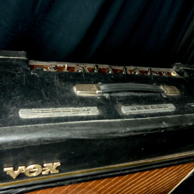 """VOX AC30 Guitar Amp"" stock image"