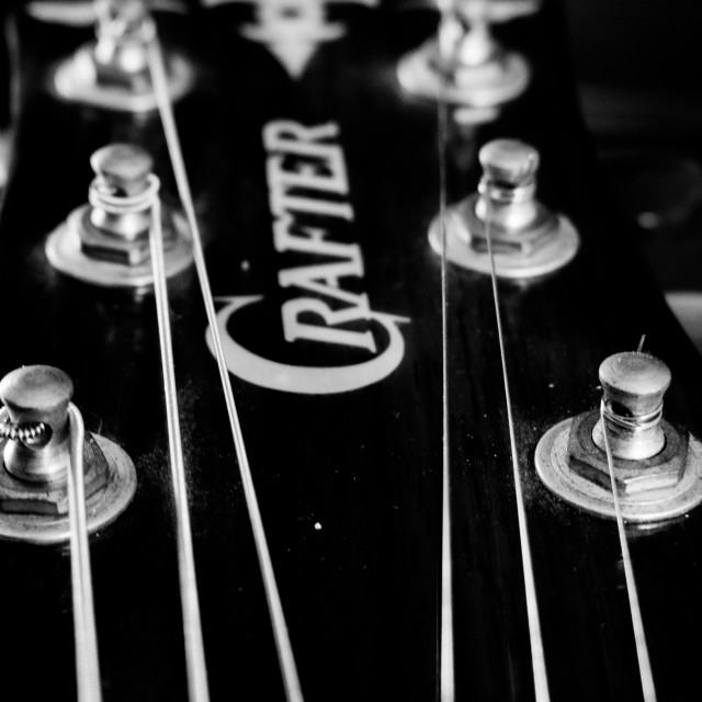 """Guitar"" stock image"