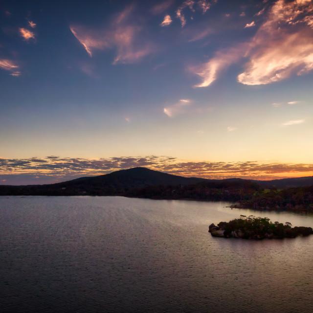 """Honeymoon Island Sunset"" stock image"