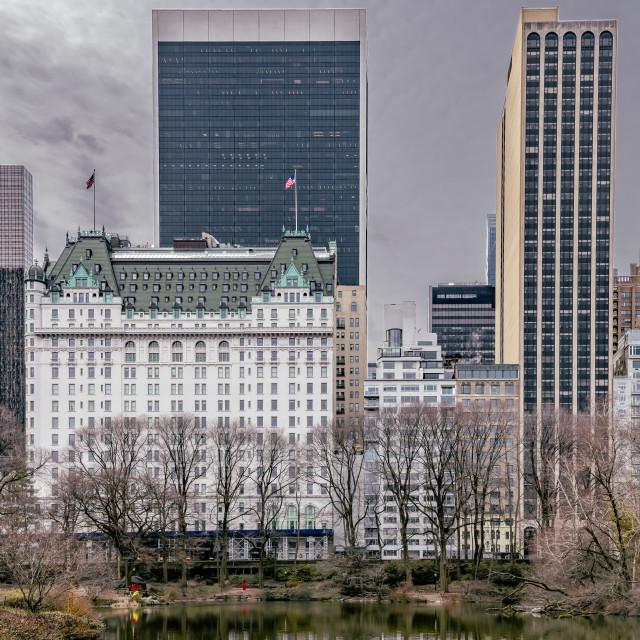 """The Plaza // Manhattan, New York"" stock image"