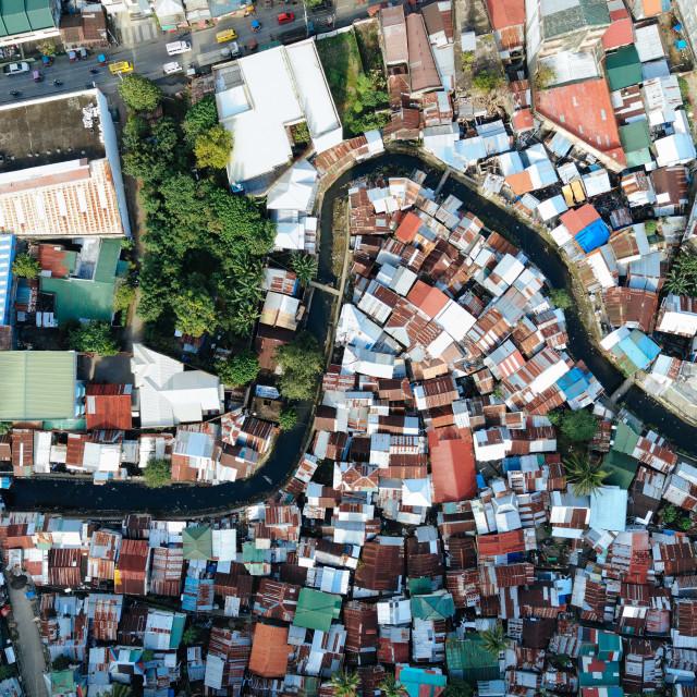 """""""Die Siedler von Tacloban - Fotoreportage"""" stock image"""