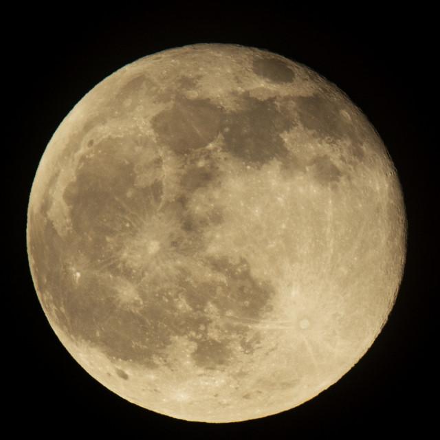 """Full Moon"" stock image"