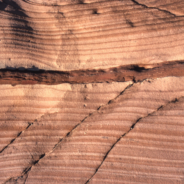 """""""Sandstone abstract 1"""" stock image"""